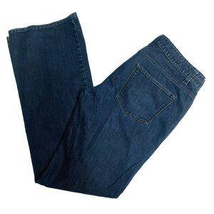 Ann Taylor Denim Jeans Womens Size 8 Modern Boot C